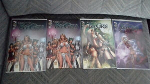 Grimm Fairy Tales Bad Girls Re-imagined fantasy tales comics