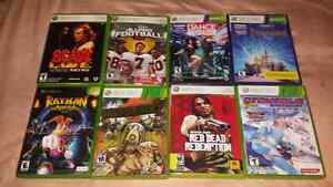 For sale, Xbox 360 and original Xbox games bundle.