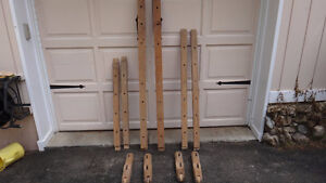 Antique Trundle Rope Bed Parts