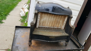 Antique fireplace insert victorian