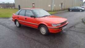 1990 H PLATE Toyota Corolla 1.6 auto Executive ONLY 40K MILES