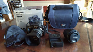 Panasonic G3 camera with 14-42 lens