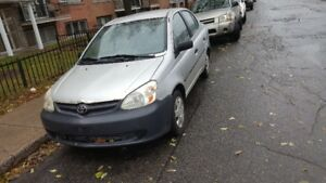 2003 toyota Echo  1100$ negociable