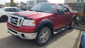 2008 FORD F150 4X4 Quad Cab