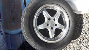 Klasse rims and Michelin tires 200 obo