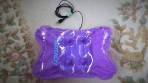 Inflatable back rest and massager