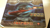 Powercolor HD 7970 Video card GPU PCI-E