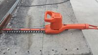 """Electric Hedge Trimmer 13"""""""