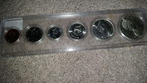 amazing 1967 Centennial silver coin set in hard case only 50$... London Ontario image 2