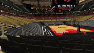 RAPTORS 19 game package Section 115 with platimum club access