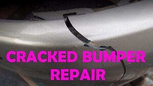 Cracked Bumper, Rusty Rocker Panels (Experience Mechanics)