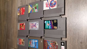 9 Nintendo NES games