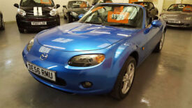 2006 56 reg MAZDA MX5 1.8cc - ONLY 64,000 MILES FROM NEW - CHOICE OF 5