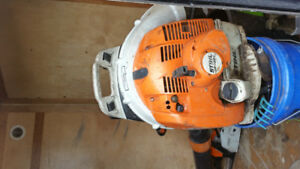 Stihl BR 450c blower electric start