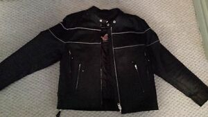 Almost new mens leather jacket