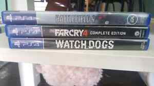 Watch Dogs, FarCry 4, Battlefield 4 for Trade