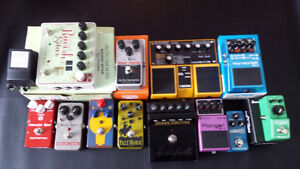 Lot de pédales-Batch of pedals