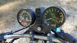 1977 KZ 650 Bike im Parting it out call with your needs