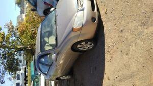 2005 Kia Spectra beige Sedan