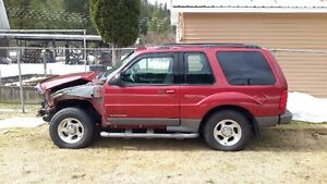 2001 Ford Explorer Sport Coupe (2 door)