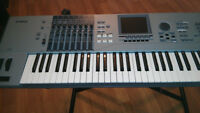 YAMAHA MOTIF XS7 & ROLAND V SYNTH GT