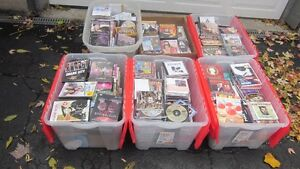 Over 650 Various CD's