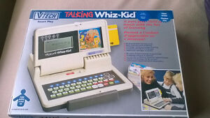 "BRAND NEW IN BOX TALKING ""WHIZ KID"" COMPUTER WITH ACCESSORIES!!"