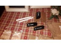 Wedding decorations for sale, shabby chic and rustic!