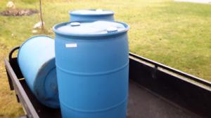 Burn barrels plastic barrels  ***PHONE 902 452 6027 - - -