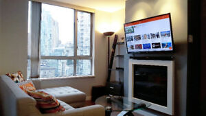 1BR & 1BA by Yaletown Station (3 months, FURNISHED+UTILITIES)