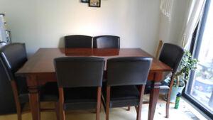 Dining table set 7pcs