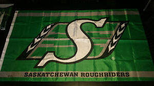 Saskatchewan Roughriders Flags
