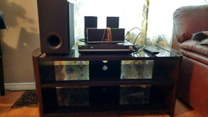 LG Home theatre and TV stand