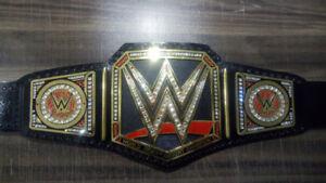 NEW WWE WORLD HEAVYWEIGHT WRESTLING TITLE BELT FREE SHIPPING