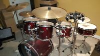 pearl drum set 7 piece