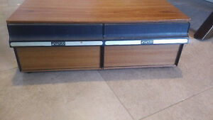 Rangement Cassettes 24-VHS -- 24-VHS 2-drawer case