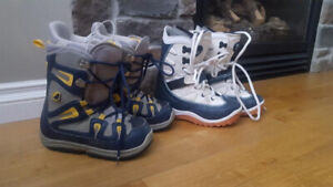 Burton Snowboard Kids Boots. $40.00 each or both for $70.00