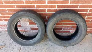 Motormaster P185/65R14 All season tires (set of 2)