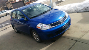 Nissan versa 2010 low km