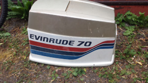 EVINRUDE ENGINE COWL/COVER