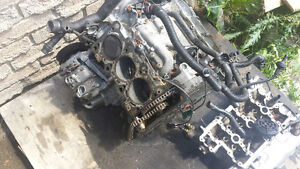 parting out 3.2 engin a4 2006-2009 audi