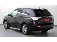 2015 Mitsubishi Outlander 2.0 4X4 PHEV GX3h Petrol/PlugIn Elec Hybrid black Auto