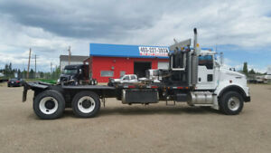 Kenworth T800 Tandem Axle Day Cab Texas Bed Winch Truck