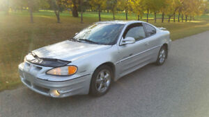2001 Pontiac Grand Am GT Coupe (2 door)  ONLY 151KMS! !