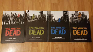 The Walking Dead Books 1-4