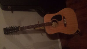 12 string Madera guitar with hard case and stand Kawartha Lakes Peterborough Area image 1