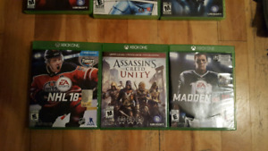 Jeux divers Xbox360 et One