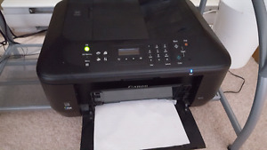 Wireless scan and fax machine