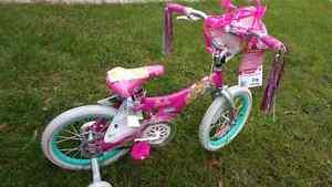 Brand new Barbie bike