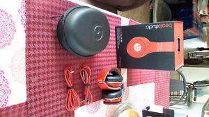 Red Studio Beats by Dr Dre EXCELLENT CONDITION London Ontario image 1